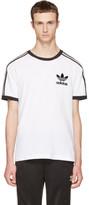 adidas White & Black California T-Shirt