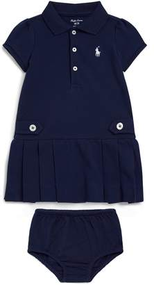 Polo Ralph Lauren Flared Polo Dress with Bloomers