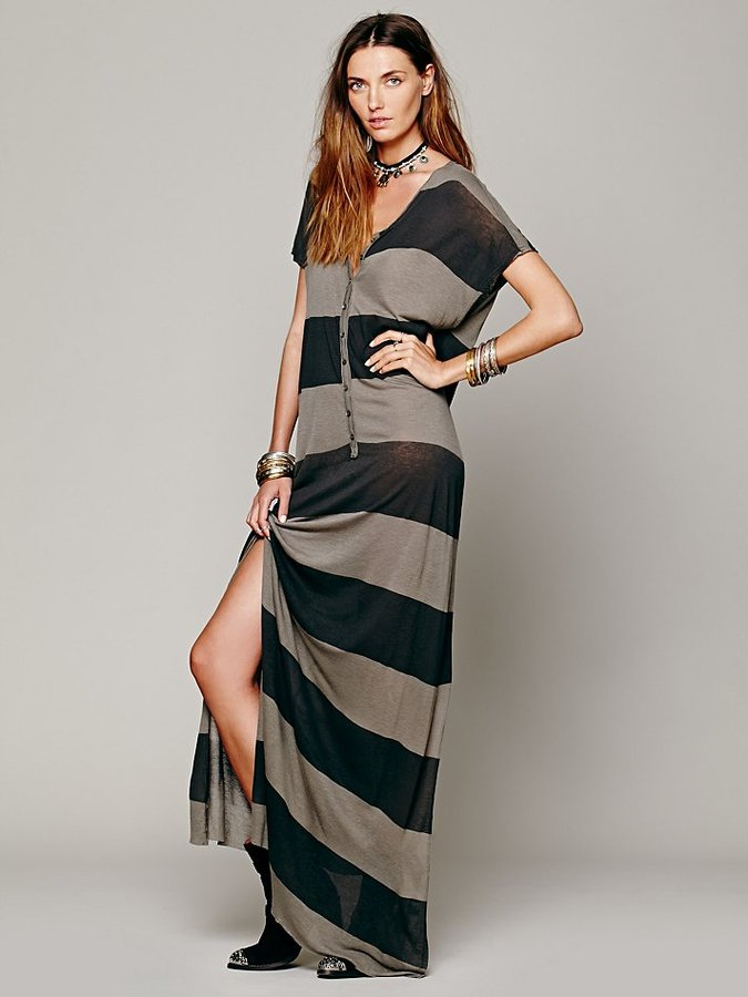 Free People Marrakesh Stripe Dress