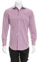 Robert Graham Check Print Button-Up Shirt