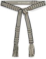 Etoile Isabel Marant Carpet Woven Belt - Black
