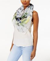 Vince Camuto Mandala Flower Silk Square Scarf