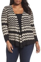 Nic+Zoe Plus Size Women's Enchanted 4-Way Convertible Cardigan