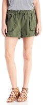 Sole Society Canvas Cargo Short