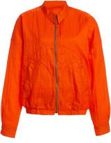 MONITALY Western Drizzler Oversized Crinkled Shell Jacket