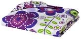 Bacati Botanical Purple Fitted Sheet