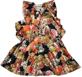 Givenchy Floral Butterfly Peplum Top