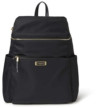 Baggallini City Lights Jennie Day Backpack (Black) Backpack Bags