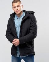 Blend of America Hooded Heavy Parka Jacket Black