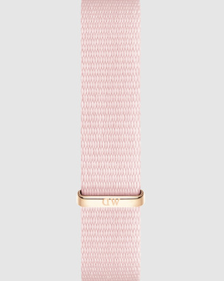 Daniel Wellington Nato Strap Petite 12 Rosewater Watch Band - For Petite 28mm