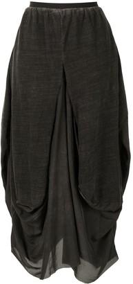 UMA WANG Great silk skirt