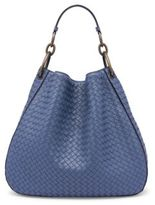 Bottega Veneta Woven Nappa Leather Hobo Bag