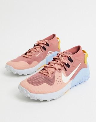 Nike Running Wildhorse 6 sneakers in pink