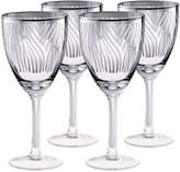 Artland Zebra 4-pc. Wine Glass Set