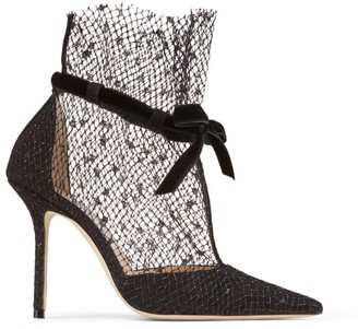 Jimmy Choo Fira 100 Suede Ankle Boots