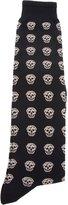 Alexander McQueen skull print socks
