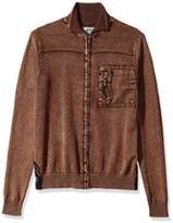 Buffalo David Bitton Men's Wipatch Long Sleeve Full Zip Fashion Sweater