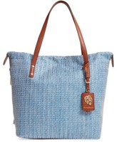Tommy Bahama Woven Tote - Blue