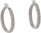 The Sak Etched Hoop Earrings