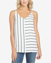 1 STATE 1.STATE Striped V-Neck Top