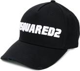 DSQUARED2 contrast logo baseball cap