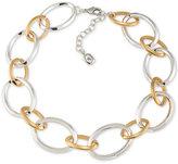 Lauren Ralph Lauren Two-Tone Large Link Collar Necklace