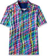 Bugatchi Men's Donovon Digital Polo Shirt