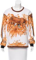 Balmain Printed Pullover Sweater