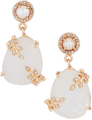 Atelier Mon Mini Moonstone Drop Earrings