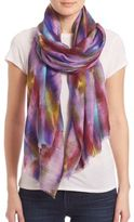 Bindya Mixed Color Cashmere & Silk Scarf