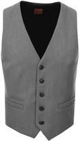 BOSS ORANGE Batson Waistcoat Grey