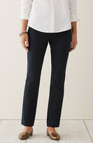 J. Jill Cotton-Stretch Slim-Leg Pants