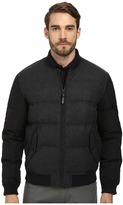 Cole Haan Mixed Media Down Bomber