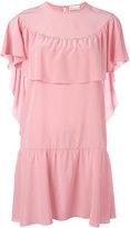 RED Valentino ruffle detail dress - women - Silk - 44