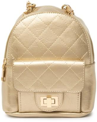 Pink Haley Miah Metallic Mini Backpack