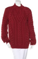 Altuzarra Cable Knit Wool Sweater