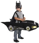 BuySeasons DC Comics Toddler Boys' Batmobile Costume Black 3T-4T