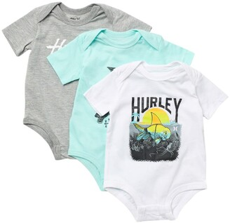 Kids Headquarters Graphic Bodysuits - Set of 3