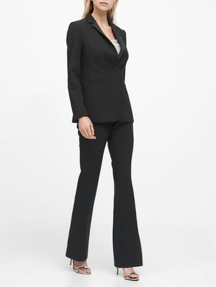 Banana Republic Petite Long and Lean-Fit Tuxedo Blazer