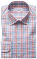 Eton Men's Bold Check Dress Shirt