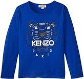 Kenzo Ansel T- Shirt (Toddler/Kid) - Royal Blue - 4 Years