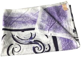 Eres Purple Cotton Scarves