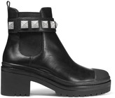 MICHAEL Michael Kors Glenn Studded Leather Chelsea Boots