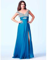 Cassandra Stone - 64664 Dress in Peacock