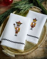 Mackenzie Childs MacKenzie-Childs Nutcracker Guest Towels, 2-Piece Set