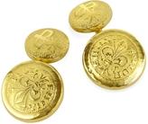 Torrini Fiorino - Fleur-de-Lis 18K Yellow Gold Cufflinks