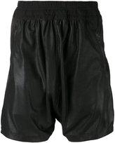 Julius leather shorts - men - Cotton/Leather/Cupro - I