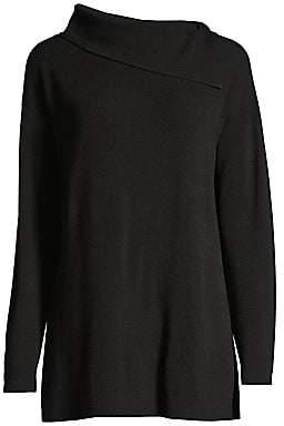 Lafayette 148 New York Women's Asymmetric Long-Sleeve Sweater