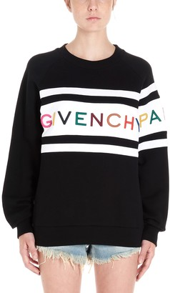 Givenchy Logo Embroidered Jumper