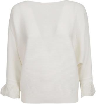 Chloé Ruffled Sleeve Sweater